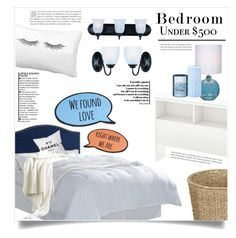 """""""Upgrade Your Bedroom With $500"""" by dolly-valkyrie ❤ liked on Polyvore featuring interior, interiors, interior design, home, home decor, interior decorating, Better Homes and Gardens, South Shore, Improvements and Chanel"""