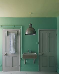 Possible paint color for laundry room... yes, i think so.