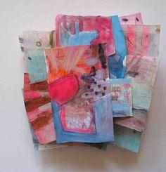 ANNETTE KEARNEY: NEW WORK SCULPTURAL PAINTINGS