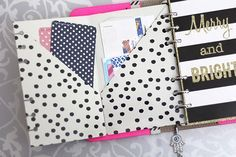 Personalize Your Planner with DIY Folders