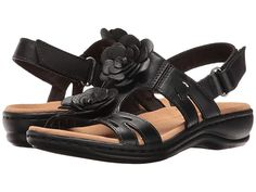 c4e27836338 Clarks Leisa Claytin (Black Leather) Women s Sandals. The Leisa Claytin is  part of