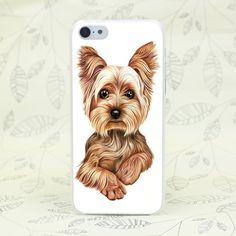 yorkshire terrier dog puppy Hard Transparent Case Cover for iPhone 7 7 Plus 4 4s 5 5s 5c SE 6 6s Plus