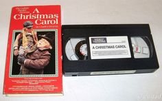 A CHRISTMAS CAROL SCROOGE GUTHRIE THEATER VHS RICHARD HILGER 1992 VIDEO TREASURE