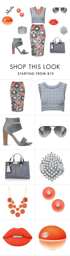 """""""Texture is Everything!"""" by sekarionkj ❤ liked on Polyvore featuring Alaïa, Splendid, Victoria Beckham, River Island, Natasha Accessories, Kate Spade, Lime Crime, DKNY, under50 and skirtunder50"""
