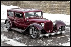1932 Ford Sedan Street Rod 386 CI, Automatic for sale by Mecum Auction Classic Trucks, Classic Cars, Hot Rods, Vintage Cars, Antique Cars, Retro Cars, Hot Rod Autos, Street Rods For Sale, Cool Old Cars