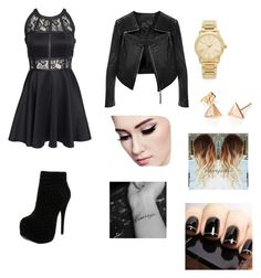"""""""Party"""" by catrinel-grigorescu on Polyvore featuring AX Paris, Linea Pelle, Michael Kors and Luichiny"""