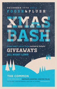 XMAS BASH by Gordon Montgomery, via Behance