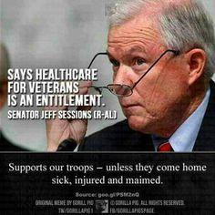 such hypocrisy.