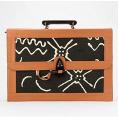 Urban Outfitters  Structured Pattern Satchel