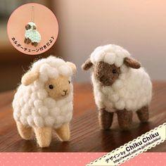 【chiku chiku】Feltneedle wool