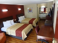 Red Roof Inn Staunton, VA | Stay With Red Roof | Pinterest | Red Roof,  Interstate 75 And Continental Breakfast