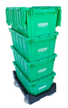 Using EZBINS Help Save the Environment!  1. Order 2. We Drop Off 3. You Pack & Move 4. We Pick them Up.