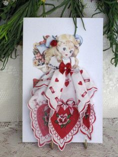 Little Lady Love by onceuponahanky on Etsy, $10.00