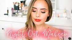 SUMMER NIGHT OUT MAKEUP TUTORIAL | Hello October | ad