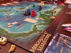 Boardgames; Merchants & Marauders; Photographer Tara Green