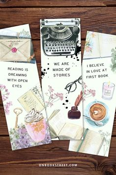 You can never have too many bookmarks... right?! I love starting a new read with a matching bookmark almost as much as I love designing them for my favourite reads. This set features some of my favourite bookish quotes. What are yours? Click if you want to get this printable bookmark for yourself or as a book loves gift for your book buddy / favourite bookworm! Bookmarks Quotes, Bookmarks For Books, Creative Bookmarks, Diy Bookmarks, Printable Bookmarks, Book Lovers Gifts, Book Gifts, Homemade Bookmarks, Bookmark Craft