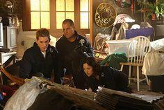 Still of George Eads, Jorja Fox and Eric Szmanda in CSI: Crime Scene Investigation (2000)
