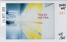★37 Project★ 275/365**641At a platform of TOKYO METRO. 東京メトロのホームにて。