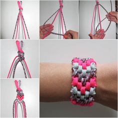 How to DIY 6-Strand Braided Friendship Bracelet | iCreativeIdeas.com Follow Us on Facebook --> https://www.facebook.com/icreativeideas
