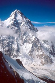 This is K2, the second highest mountain in the world. The heroine, Cassidy, in LEAN ON ME is a high-altitude mountaineer, so this is good inspiration.