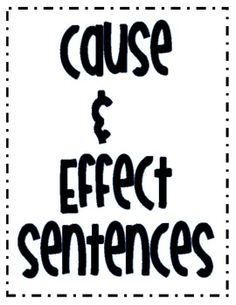 ***Cause and Effect Worksheets***Give your students the cause and effect practice they need.
