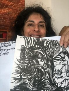 Flavia Testa posted on LinkedIn Public Profile, International Artist, New Art, Ink, Activities, Paper, Prints, India Ink, Printmaking