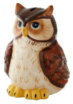 Wise Investment Bank - ModCloth (ceramic owl bank)