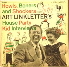 Art Linkletter's House Party A popular daytime variety show. The show featured a few jokes with Art and the audience and then a woman will answer a simple quiz. He interview an guest expert and later they got gifts. Then A regular Pop band and l School Humor, Mom Humor, Funny Comebacks, Funny Memes, Jokes, Leap Year Babies, Art Linkletter, Funny School Answers, Age Spots On Face