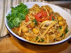 Moroccan Spaghetti Very Low Fat And Healthy) Recipe - Food.com