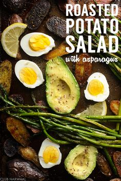 Roasted Potato Salad with Asparagus