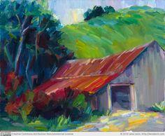 Lena Levin: An old Barn