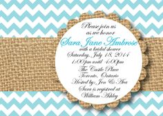 A personal favorite from my Etsy shop https://www.etsy.com/ca/listing/183614976/digital-file-bridal-shower-invite