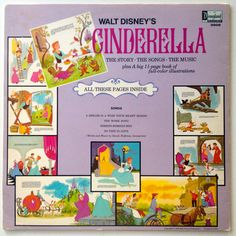 Cinderella The Story and The Songs LP Vinyl by ThisVinylLife