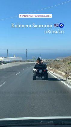 Video Santorini - quadrivciclo em Thira Santorini, Photo And Video, Videos, Instagram, Santorini Caldera