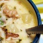 Crock Pot Zuppa Toscana - Another Popular Crockpot Recipe on Pinterest (gotta try this) - (click image for recipe) #crockpotrecipes