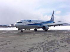 オホーツク紋別空港 MBE を離陸するB3