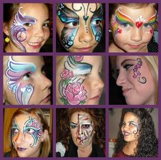 Amazing face painting!