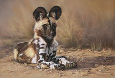 Wildlife art by Ingrid Fouche
