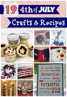 4th of July recipes and crafts