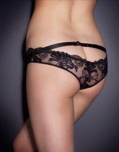 Larizsa Knicker by Agent Provocateur. Love Peek-A-Boo knickers!