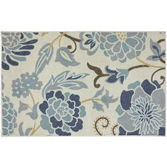Mohawk Home Power Flower Rectangular Rug (2.205 RUB) ❤ liked on Polyvore featuring home, rugs, tufted rugs, stain resistant area rugs, floral rug, flower area rug and rectangular area rugs