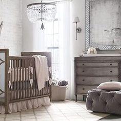 New Baby Girl Nursery Dark Furniture Restoration Hardware 55 Ideas Nursery Room, Girl Nursery, Girl Room, Chic Nursery, Nursery Dark Furniture, Baby Furniture, Retro Furniture, White Furniture, Antique Furniture