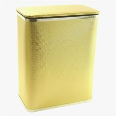 Redmon 228GOLD Silver Trim Bath Jewelry Collection- Rectangular Hamper by Redmon. $43.03. Manufactured to the Highest Quality Available.. Design is stylish and innovative. Satisfaction Ensured.. Great Gift Idea.. For over 126 years, the Redmon Company has been supplying quality products for the home and family. The Bath Jewelry line is an exquisite use of specialized material and craftsmanship. This line exudes style with sleek lines and an international appeal. Thi...