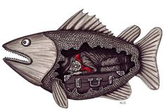 Fish Pen art