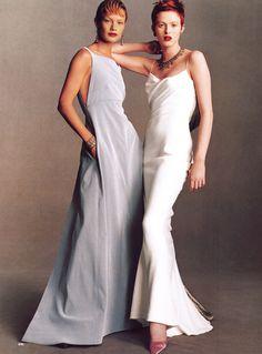 Vogue US March 1998 Karen Elson