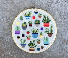 Botany is the scientific study of plants, including their physiology, structure, genetics, ecology, distribution, classification, and economic importance. Cross stitch a few plants into your life! PDF includes: - color photo of finished product - color pattern (split into multiple pages for ease of reading) - black and white pattern (split into multiple pages for ease of reading) - list of thread colors (DMC) - on screen pattern for those who prefer to use their computer or tablet while…
