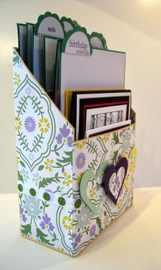 Crafting By The Beach: Card Box Holder