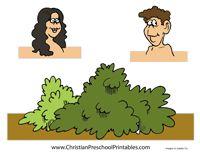 Adam & Eve Crafts & Worksheets