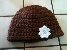One Hour Crochet Hat (may use this pattern for my sister-in-love who is undergoing chemotherapy)
