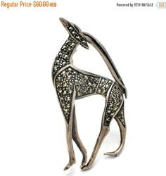 On Sale Gazelle Brooch Vintage Brooches by TheJewelryLadysStore